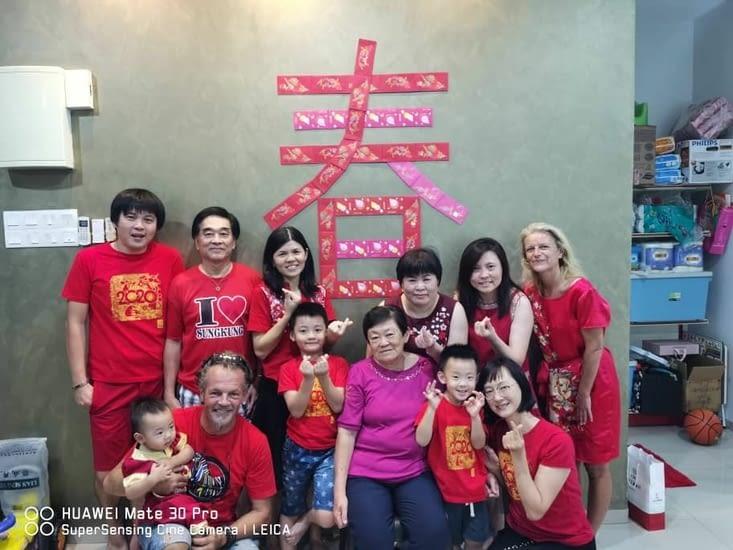 La semaine passée dans la famille de Mei en Malaisie