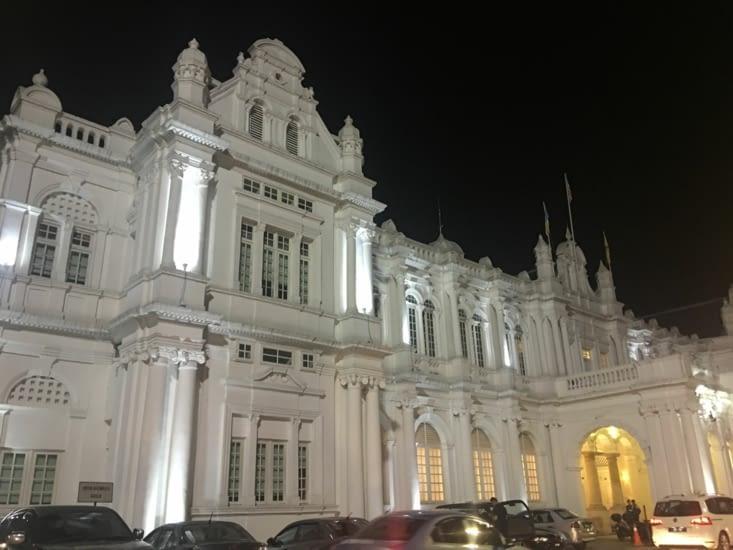 La ville de Georges Town à Penang, Malaisie