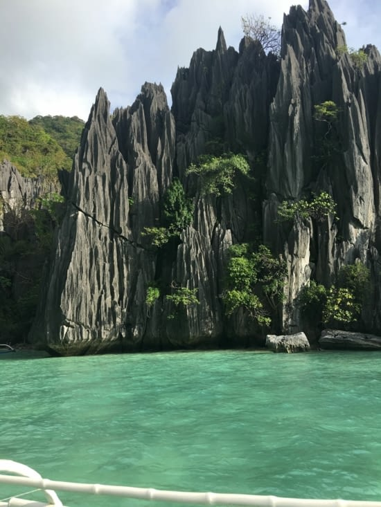 Bacuit archipelago in Philippines