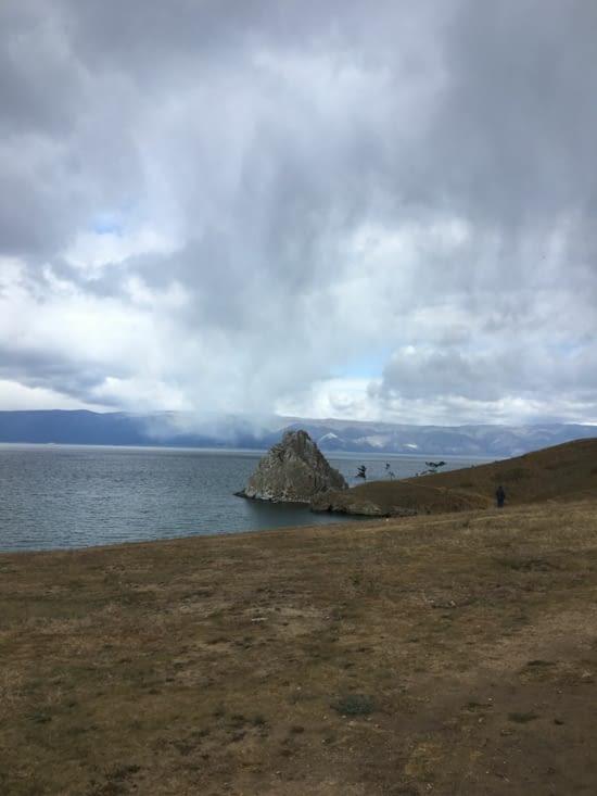 Le lac Baikal en Russie ... impressionnant par sa taille et sa beauté!