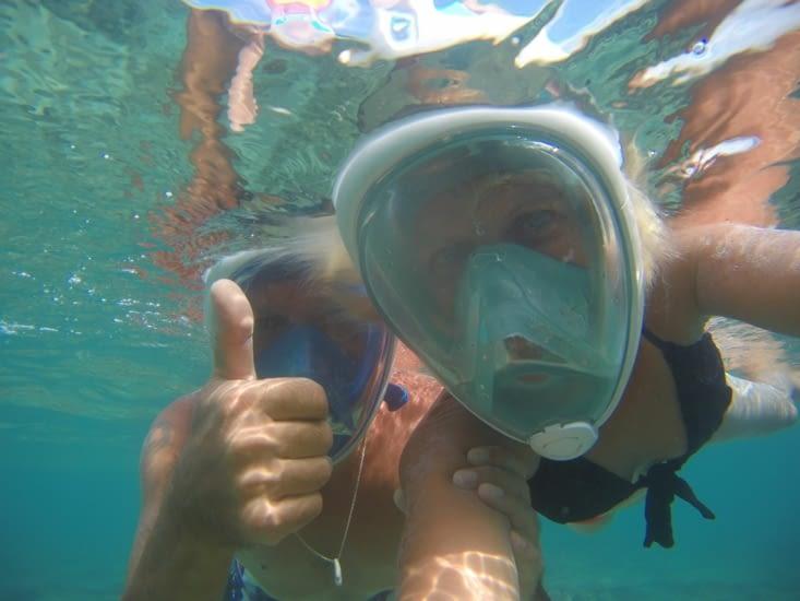 The snorkeling on the East coast, Malaysia