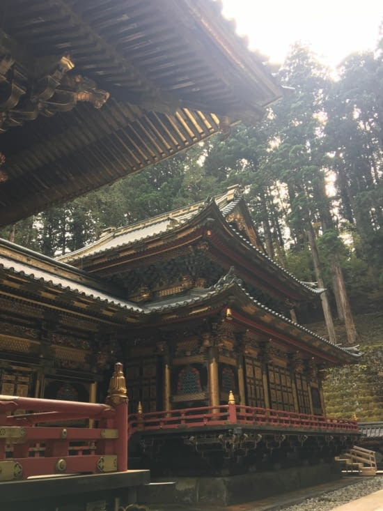 The Japanese temples
