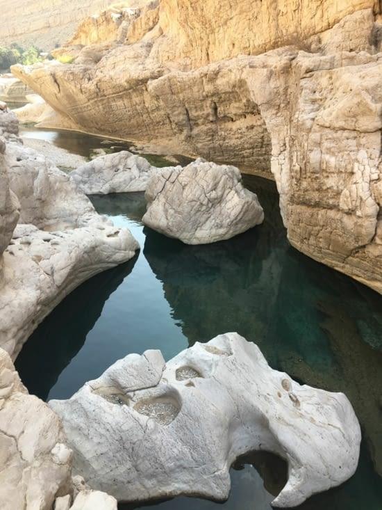 """Les """"Wadi"""" de Oman (des dizaines ...)"""
