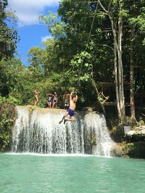 Les cascades aux Philippines