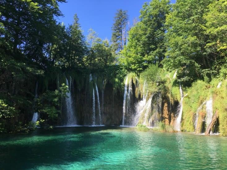 Plitvicka national park in Croatia