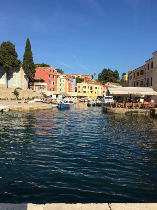 Veli Losinj en Croatie
