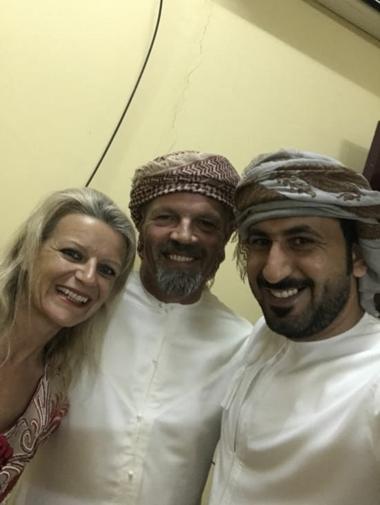 Invitation to an Omanese wedding with Saeed