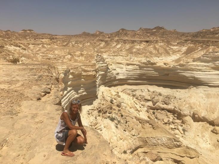 Les rocheuses dans le sud d'Oman