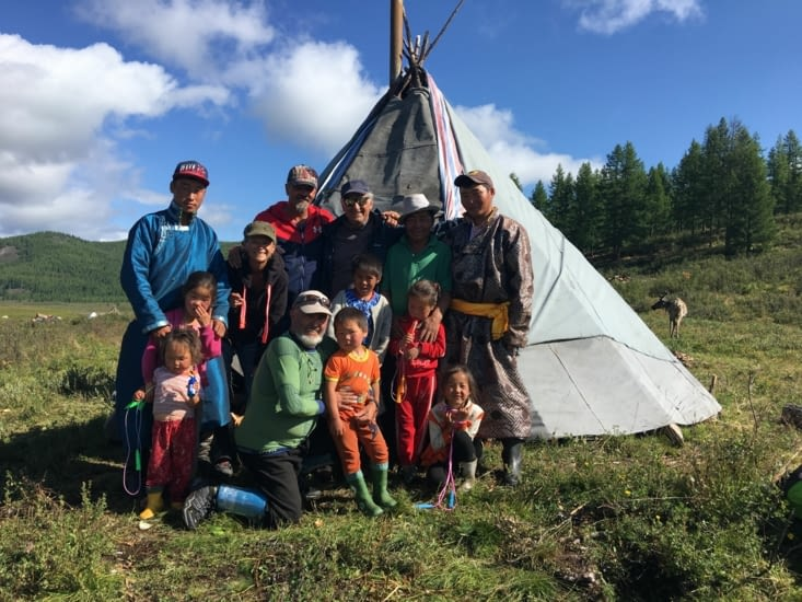 Our 5 days trip with the Tsaatan tribe in Mongolia