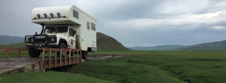Les routes Mongole! une rude épreuve mais aussi un énorme terrain de jeu