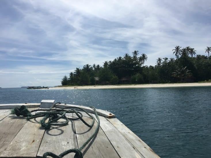 """L'archipel de """"Pulau Banyak"""" sur la côte ouest de Sumatra en Indonésie"""