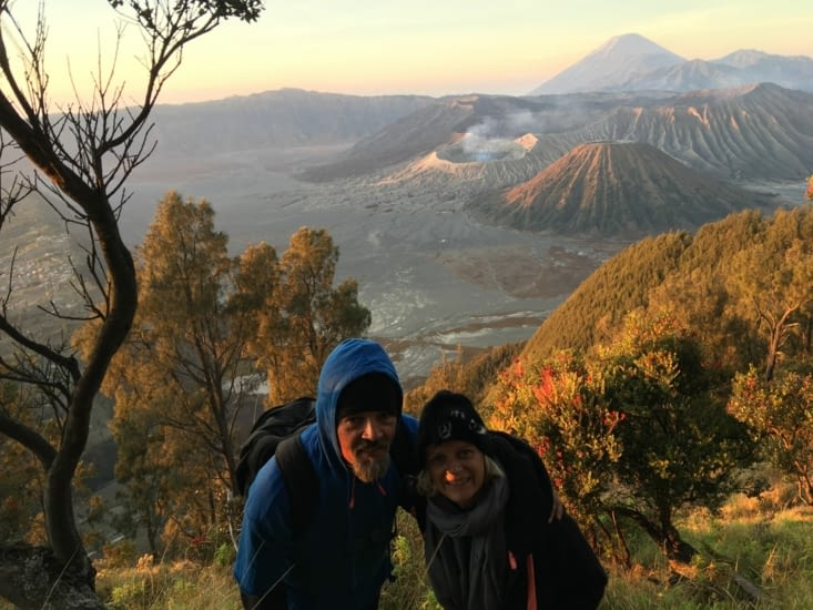 Le volcan Bromo à Java