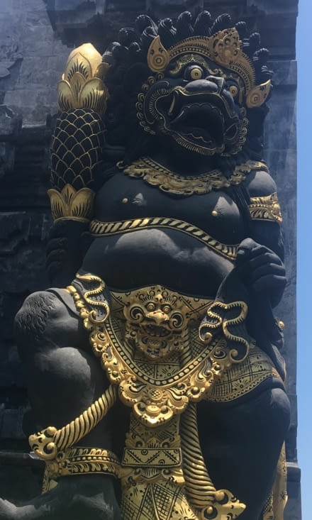 The Balinese culture and architecture