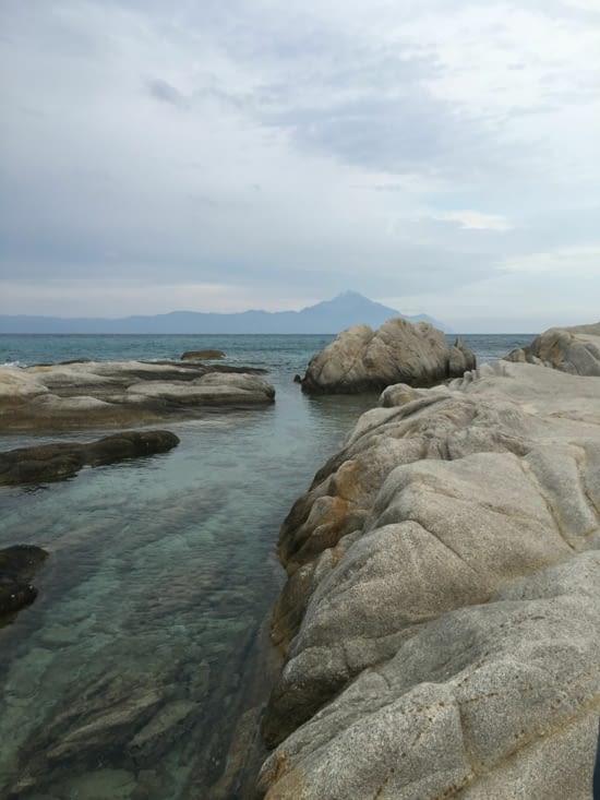 Sarti : une immense plage (la plus belle de Grèce)