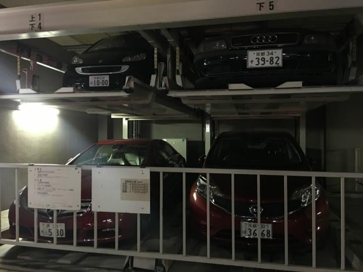 Astucieux : système de parking privé pour gagner de la place
