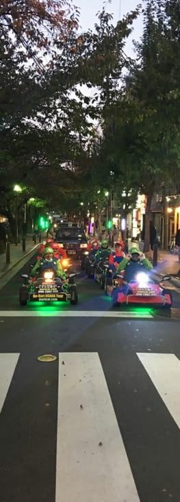 Japon : les MarioKart !