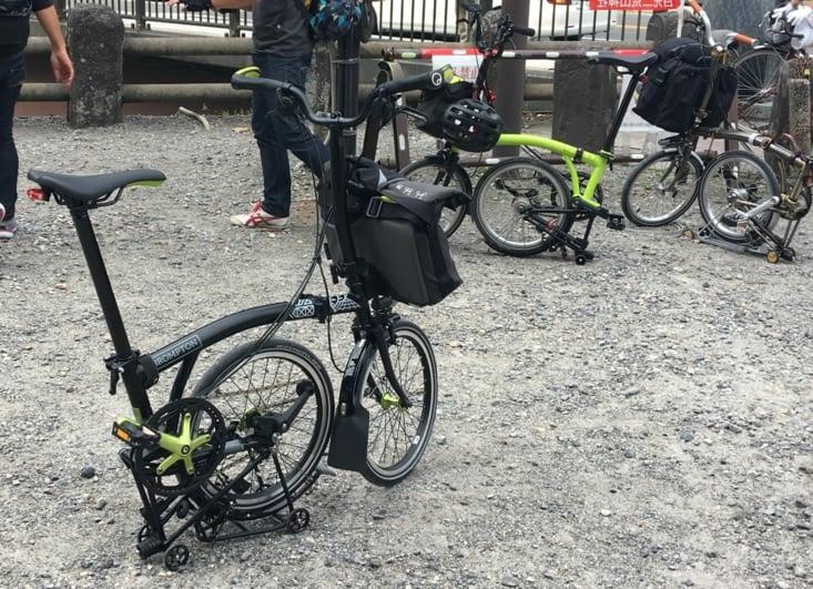 Japon : vélo valise ...