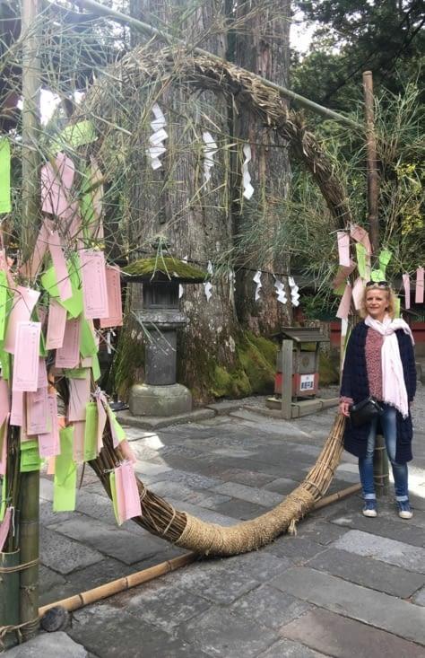 Japon : vous passez au centre et c'est bonheur garantie ...