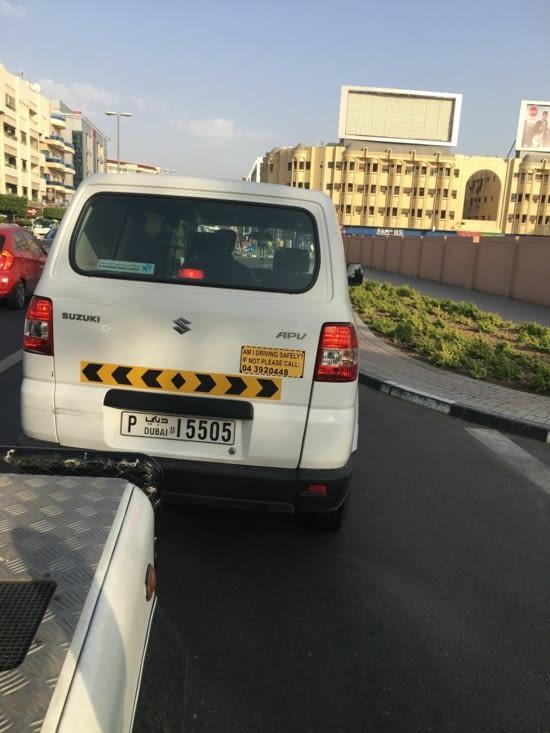 Le civisme à la sauce Emirate ! Un exemple !