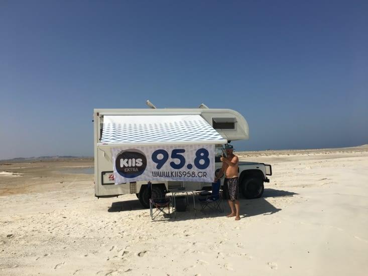 On fait de la pub pour notre ami Tassos (Grec) il possède une radio!