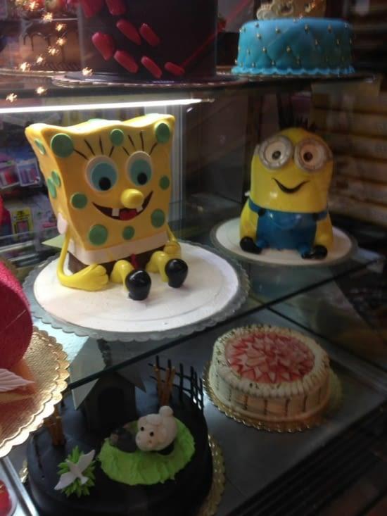 Sans commentaires .... des gâteaux juste beaux et originaux (Iran)