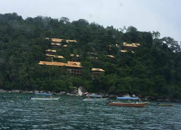 Projet hôtelier sur l'ile de Tioman abandonné en cours de cours de route (corruption !)
