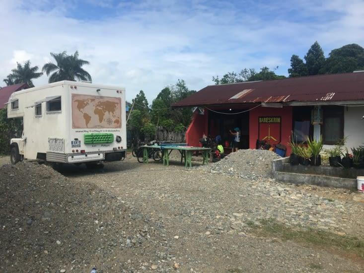 Le commissariat de Police de Ipuh à Sumatra