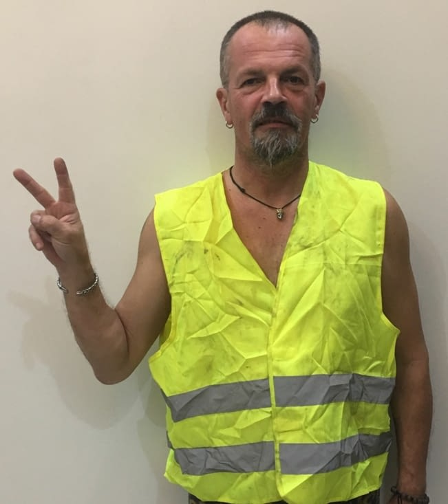 Soutien ... inconditionnel! Aux gilets jaune en France