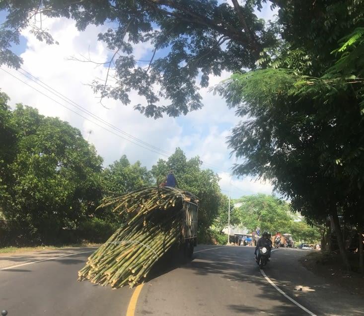 Un balai géant pour nettoyer les routes !