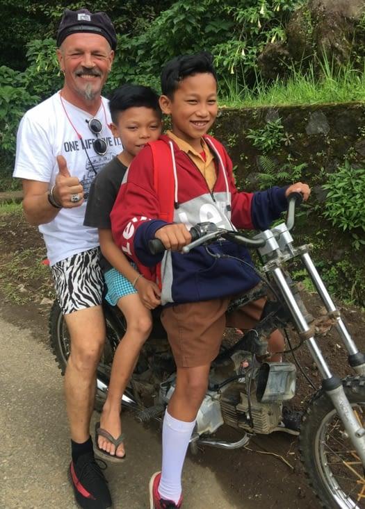 """GOJEK """"bulé"""" (Indonésie)"""