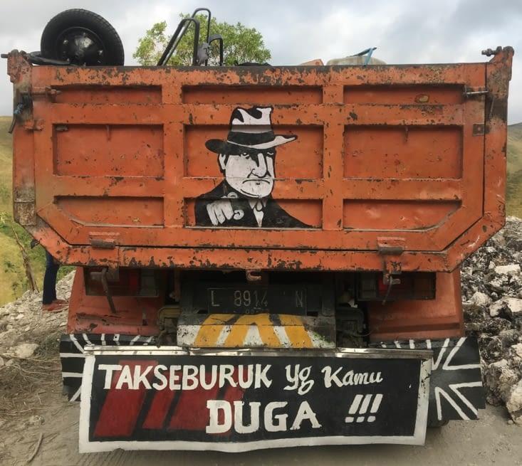 Christophe Dugarry est une star partout ... même en Indonésie !