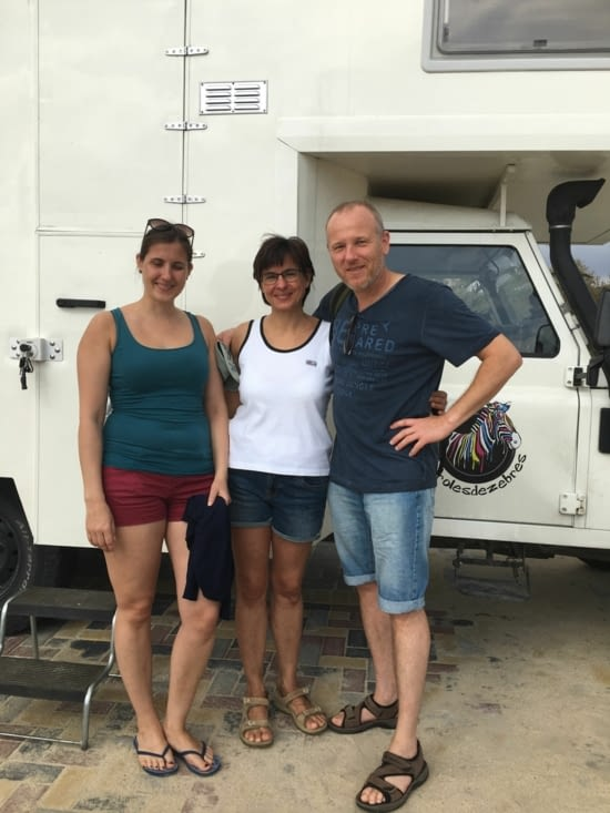 Maria, Kristina & Oliver, les nouveaux proprietaires de Max et Moritz