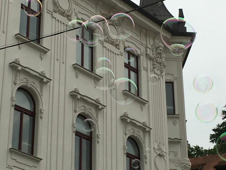 Dans notre bulle..