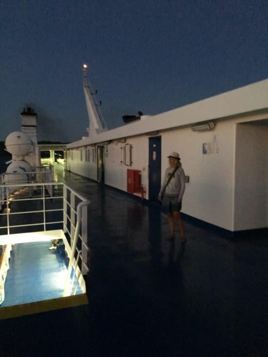 Direction l'île de Lastovo en ferry ....