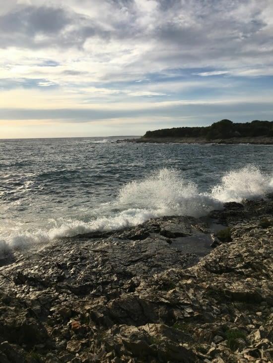 La mer est dans son mauvais jour ... Mais pas nous