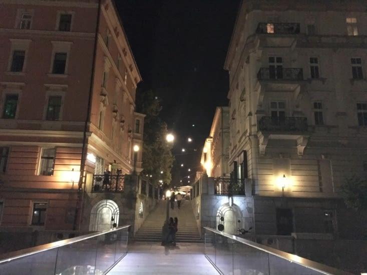 """Ljubljana un vrai coup de cœur! Belle, calme, mais aussi branchée! Nous y avons fait de belles rencontres: un DJ  (Mr Green), un futur jeune marié, mais surtout Meri, avec qui nous avons passé une partie de la journee (voir page """"rencontres"""")."""