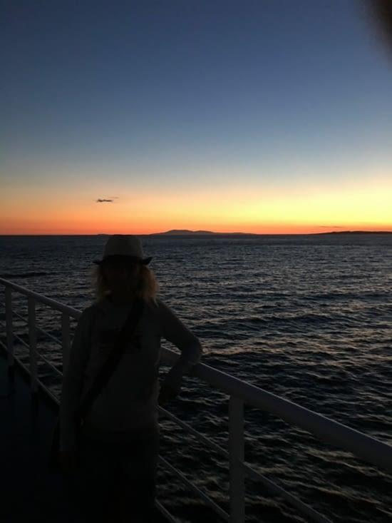 Sorry! Un énième coucher de soleil .... On ne s'en lasse pas !