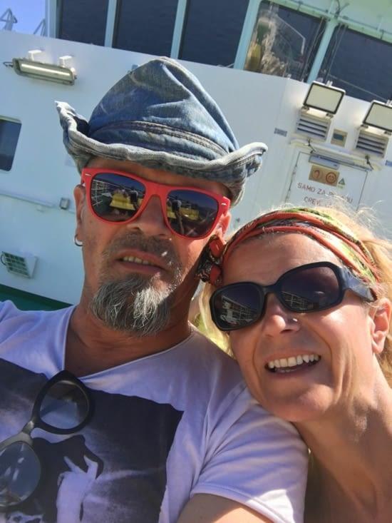 Sur le bateau pour...les iles