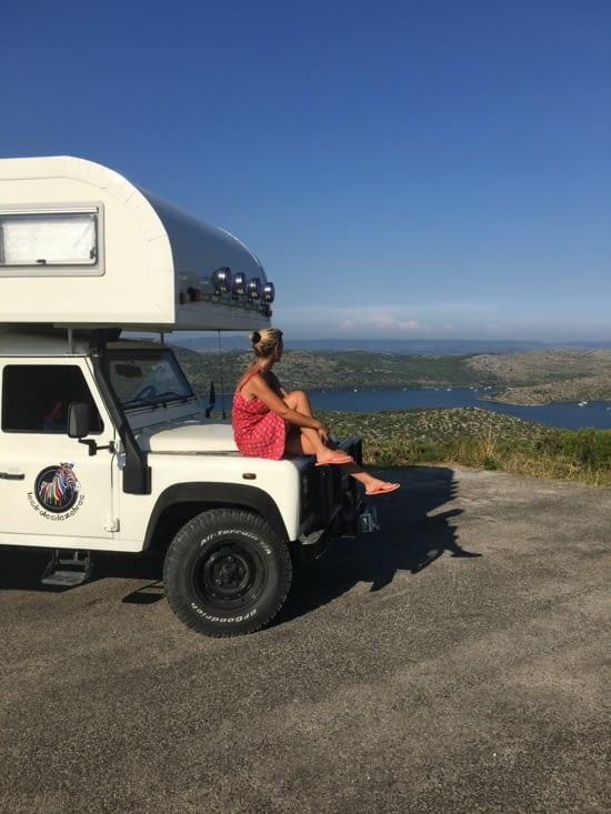 Une p'tite pose photo avant le départ vers l'île Dugi Otok