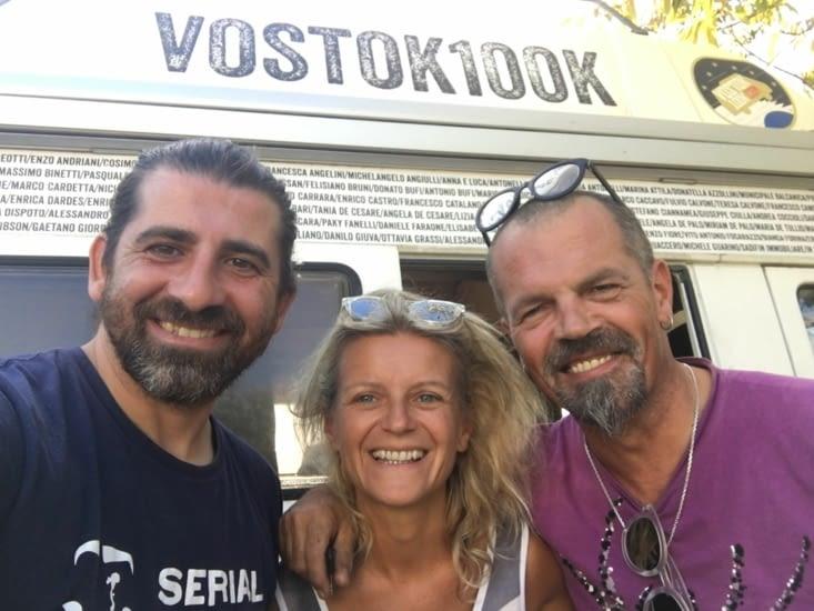 """Rencontre avec Lorenzo, Italien, qui tourne un reportage sur les réfugiés (plus détails dans """"donner un sens à sa vie"""")"""