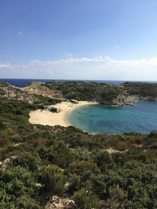 Des plages isolées ... Pas celle d'Ibiza !