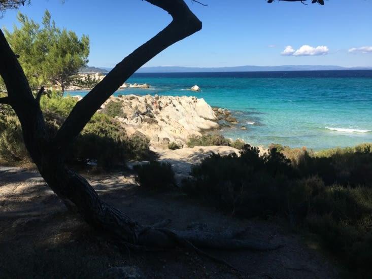 Élu par les Grecs plus belle plage du pays.... On est d'accord !
