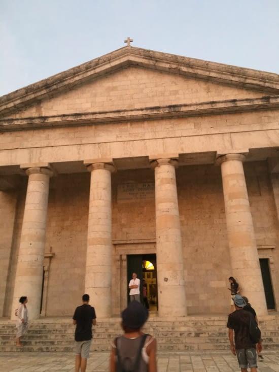 Corfou (Kerkyra en Grec). La vielle ville, magnifique, tellement que l'on en a oublié de prendre des photos !!!