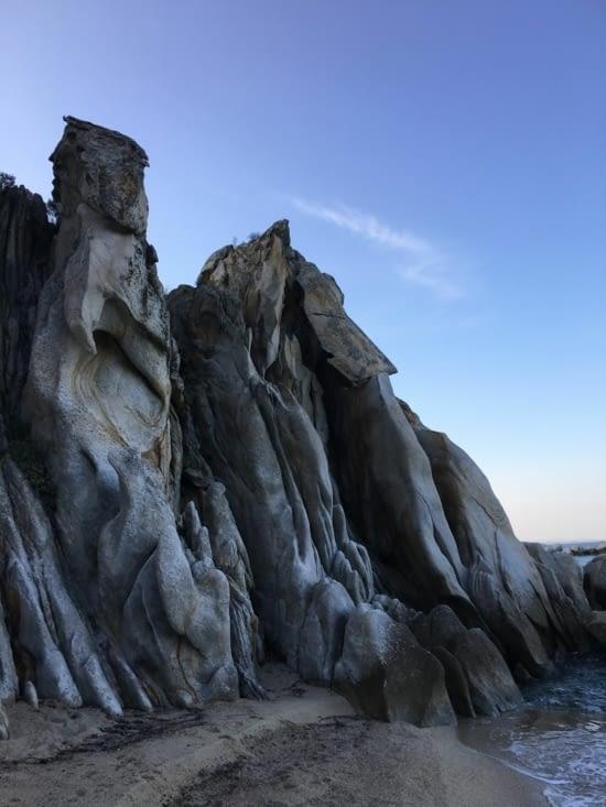 Des rochers qui ressemblent à des sculptures !
