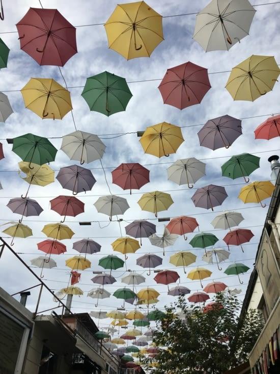 Les parapluies de Cherbourg, pardon de : Antalya !