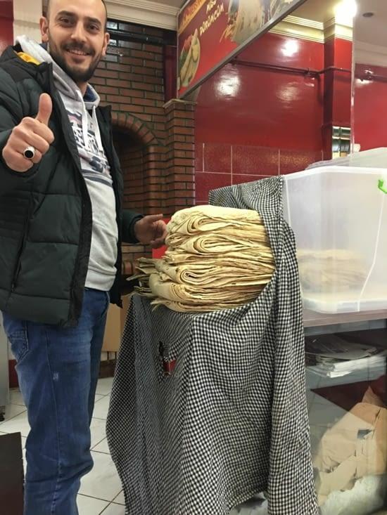 Tanturi : le pain de la région d'Erzurum