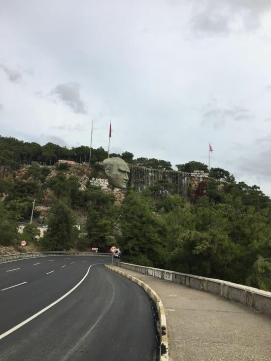 Entrée de la ville d'Antalya dans le Sud de La Turquie
