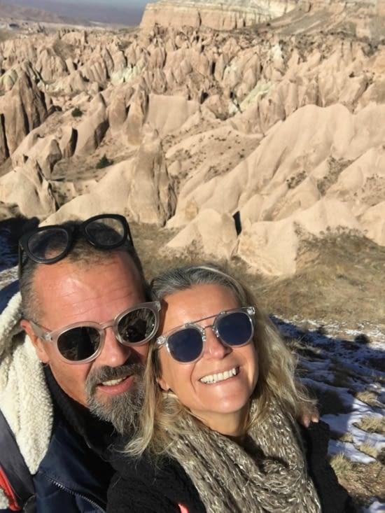 Notre découverte de la Cappadoce restera comme un grand moment quoi qu'il advienne par la suite !!!! Des résultats géologique extraordinaires ......  (le résultat de volcans, sable et vent)