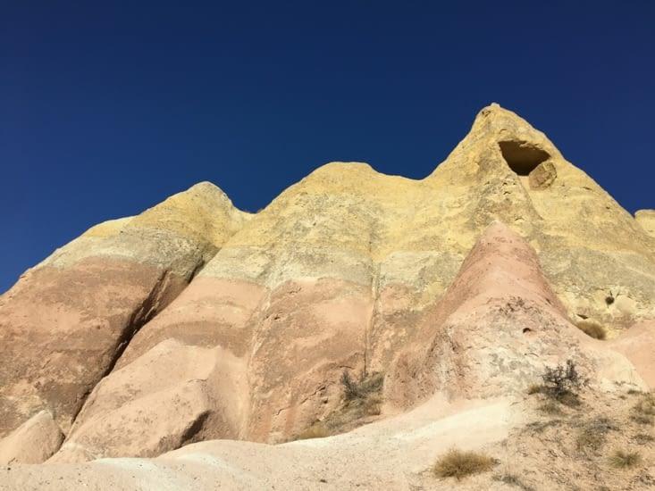 Les couleurs resultat ...... de milliers d'années !