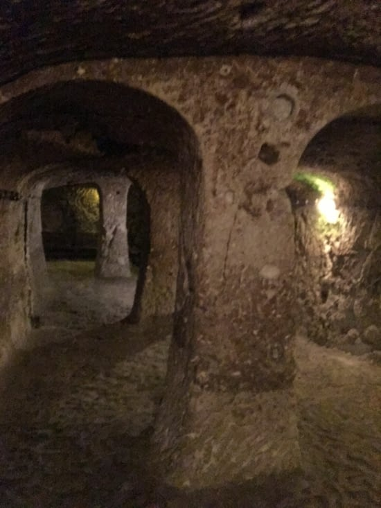 La ville souterraine de Derinkulu ....